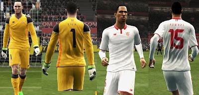 PES 2013 Sevilla 16/17 kits by vladroman