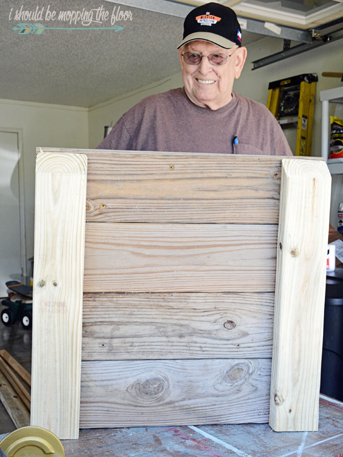 How to Make a Rolling Planter Box