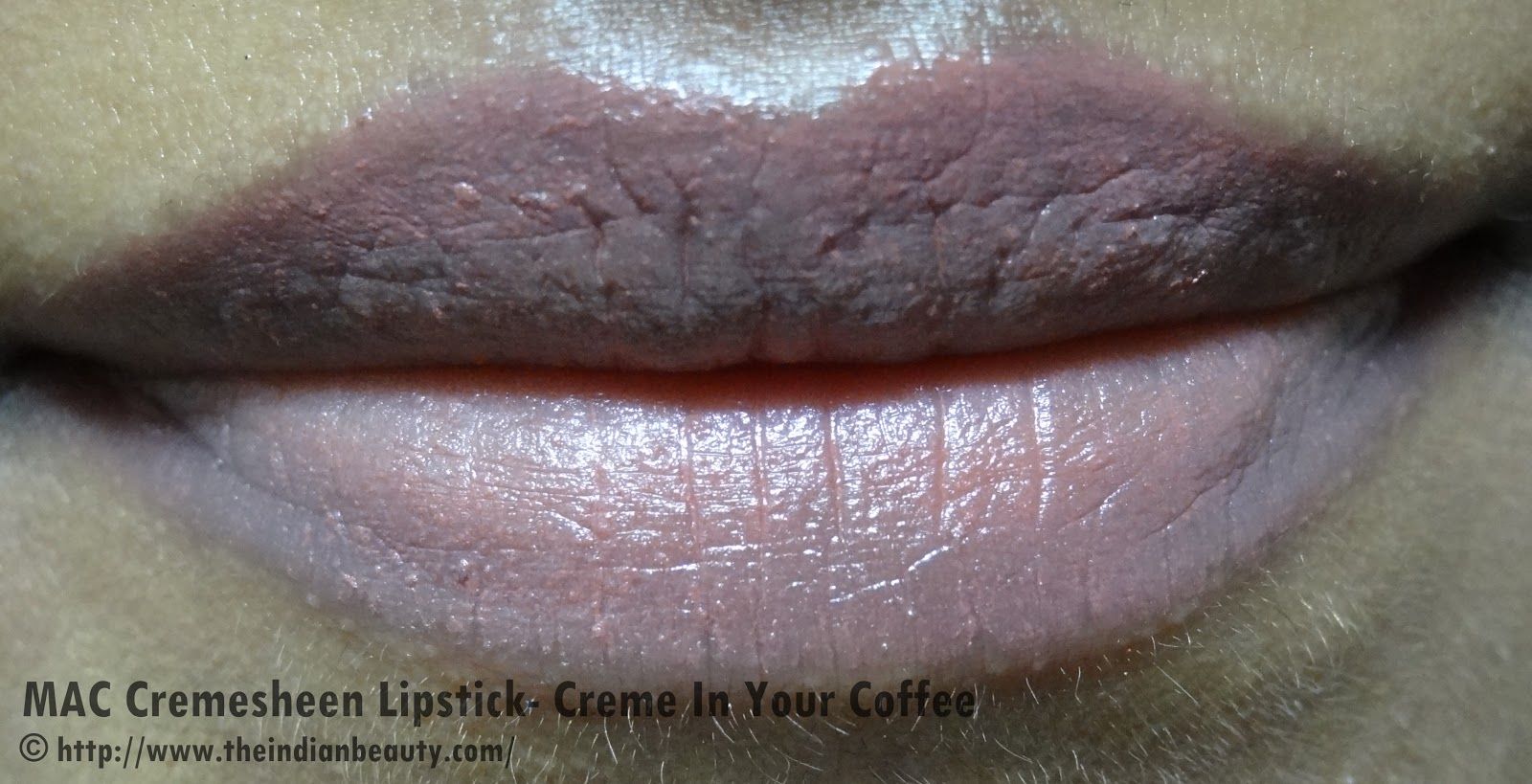 Mac Cremesheen Lipstick Creme In Your Coffee Review