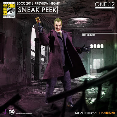 Mezco One:12 Collective DC Comics The Joker Figure