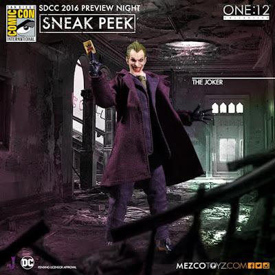 Mezco One:12 Collective DC Comics The Joker Figure