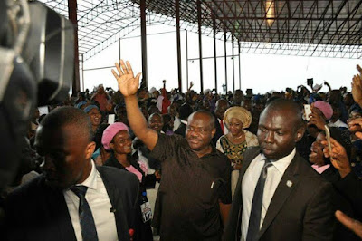 We started infrastructural development afresh because Amaechi squandered Rivers funds – Governor Wike