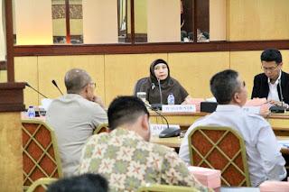 Wagub Hadiri Rakor Kebencanaan Bersama BIN Bahas Pembangunan Huntap Pasca Gempa NTB