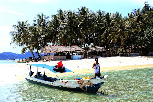 tour pulau di padang