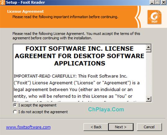 Hướng dẫn cài đặt Foxit Reader trên PC a