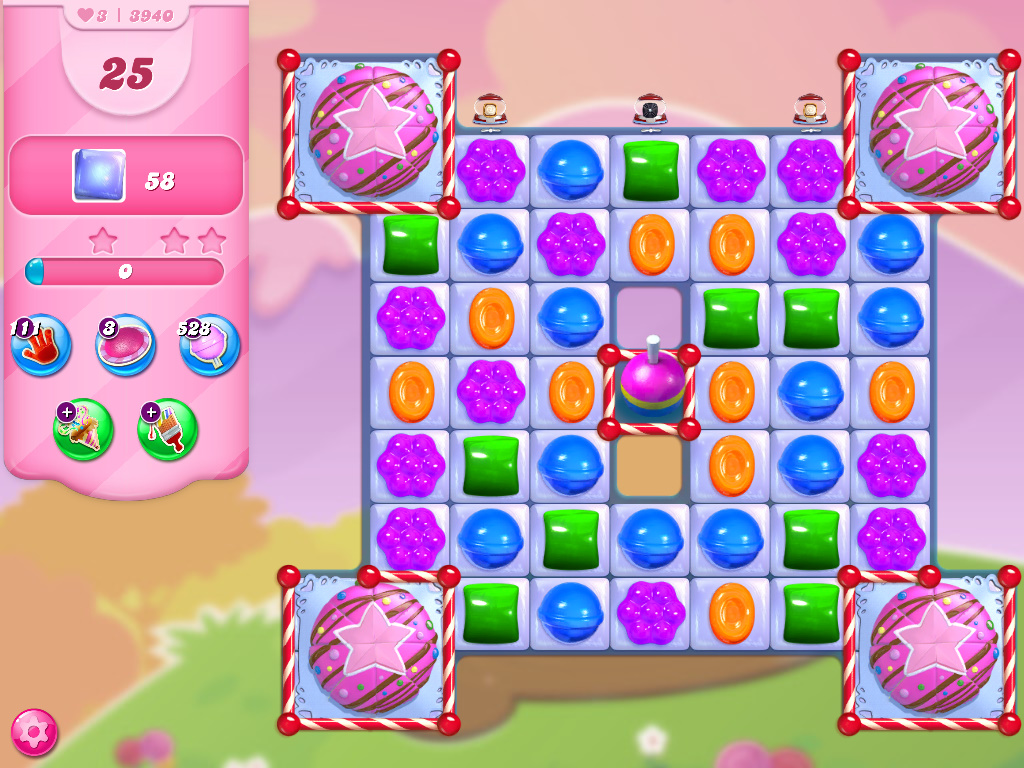 Candy Crush Saga level 3940