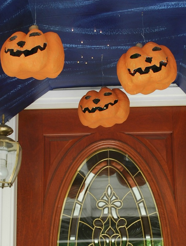 and a view of my hogwarts bewitched ceiling halloween porch looking up daytime i think this is the first time ive appreciated my narrow doorway - Hogwarts Halloween