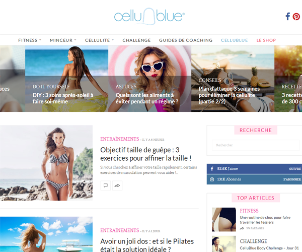 Cellublue - Méthode Anti-Cellulite