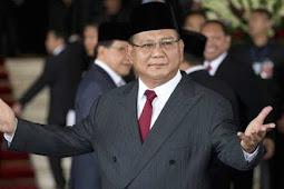 Prabowo Resmi 'Nyapres' Pada Pemilu 2019