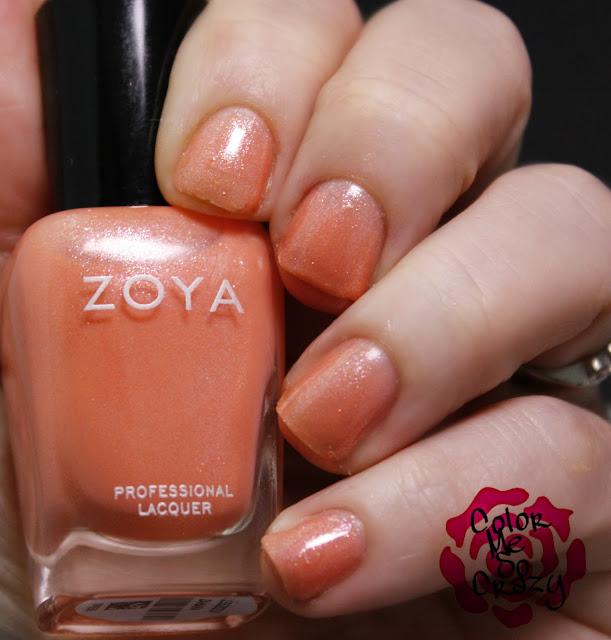 zoya, petals, spring 2016 collection, petals collection, spring nail polish, zahara