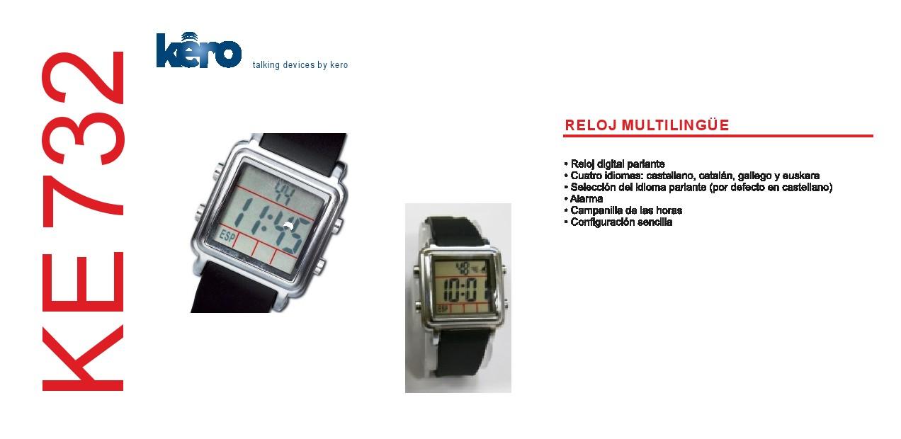 d7c13000704e ... sencilla y rápida siguiendo las indicaciones de las guías vocales del  propio reloj en los siguientes idiomas castellano