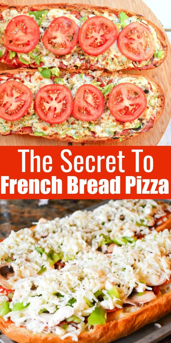 How to prevent the crust from becoming soggy for French Bread Pizza! Easy to make French Bread Pizza recipe from Serena Bakes Simply From Scratch.