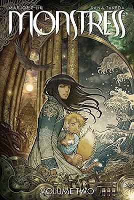 Monstress, Vol. 2: The Blood, (Monstress #2, )Marjorie M. Liu, Sana Takeda, InToriLex, Book Review