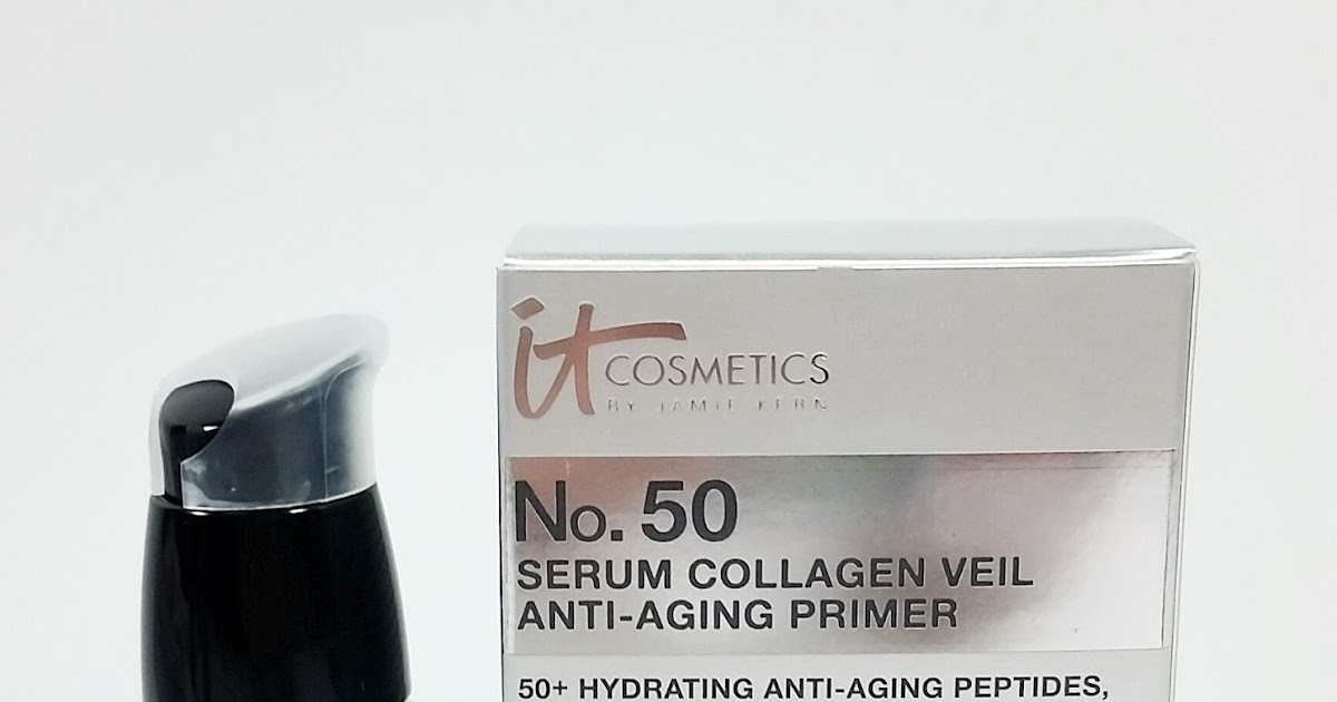No. 50 Serum Anti-Aging Collagen Veil Primer by IT Cosmetics #19