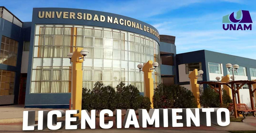 SUNEDU otorga licenciamiento institucional a la Universidad Nacional de Moquegua - www.sunedu.gob.pe