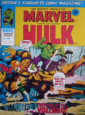 Mighty World of Marvel #176, Hulk