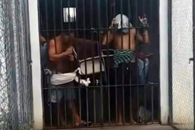 URGENTE: Rebelião na Cadeia Pública do município de Santa Quitéria.
