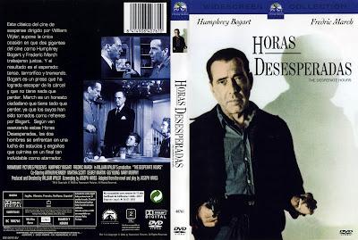 Carátula dvd: Horas desesperadas (1955) (The Desperate Hours)