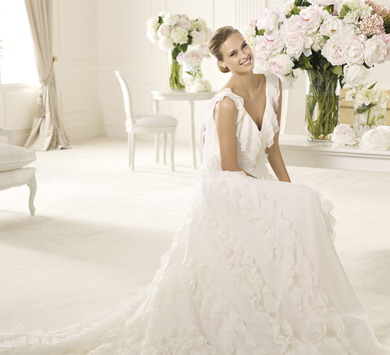 Runway Fashions About Weddings: Inspired Pronovias Wedding ...