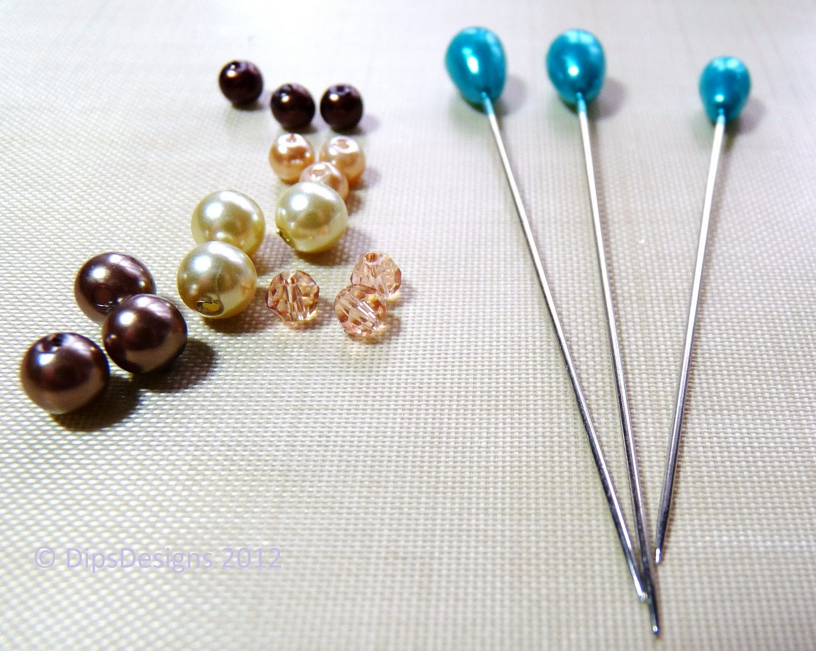 Dipsdesigns Creating Hatpins