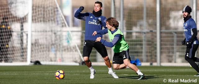 Real Madrid segue preparação para partida diante do Granada