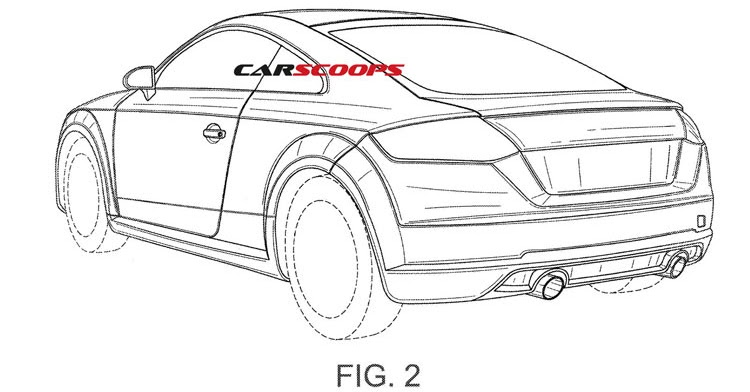 Audi Patents Show New 2017 TT RS Performance Coupe