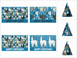 Alpacas Birthday Party Home Decor & Clothing Products