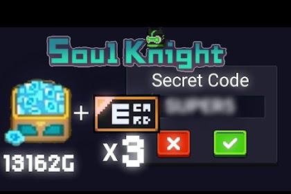 Update..!! Soul Knight Code 1000 gems + Free Trial Voucher