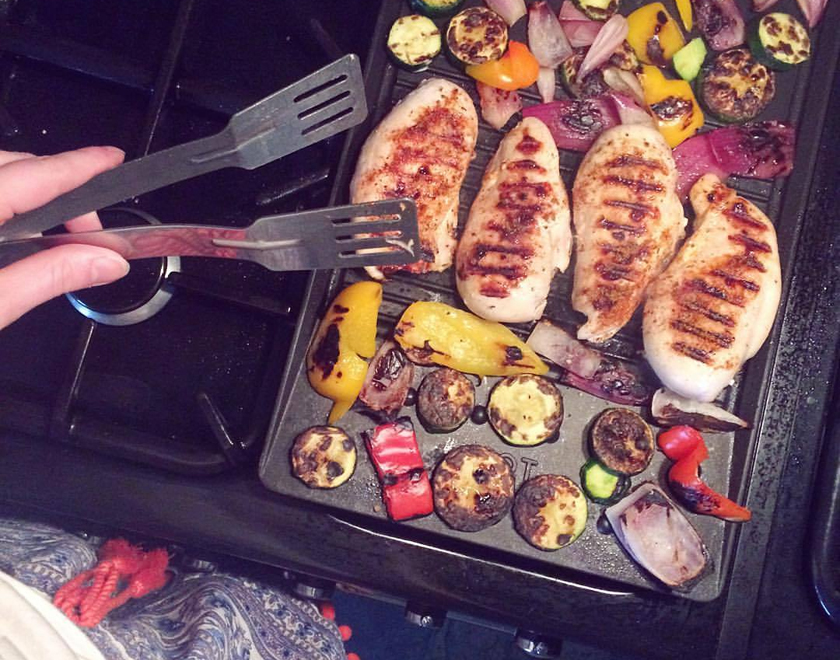 The Ultimate Healthy BBQ - 5 Meals & their Macros - Grilled chicken & veg