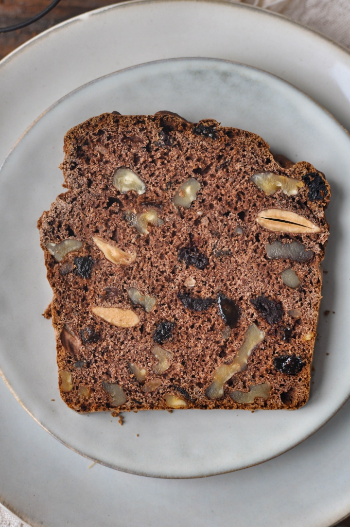 Sweet Walnut Bread, gluten free and oh-so good