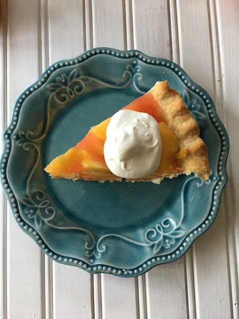 Peach Pie, Peaches, dessert