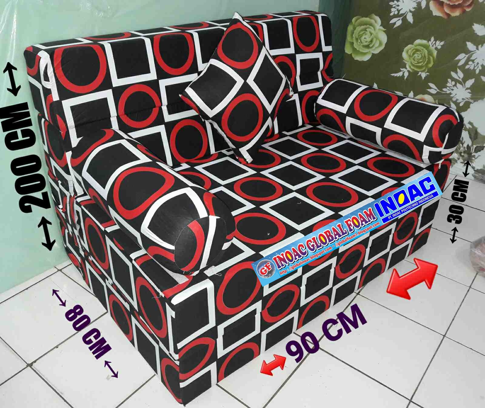 sofa bed inoac
