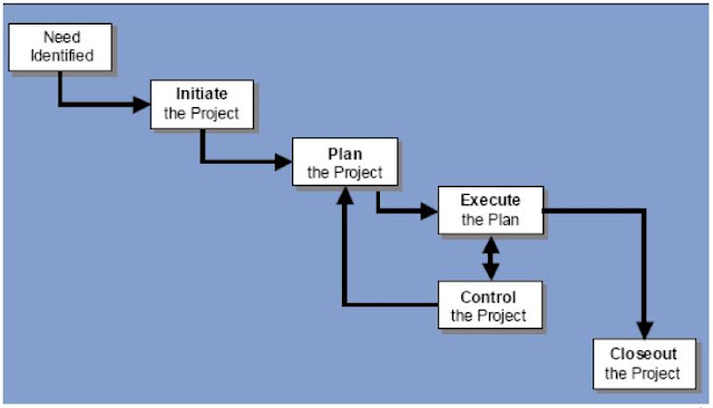 The-process-flow-of-Project-management-processes