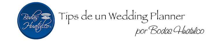 Tips de un Wedding Planner