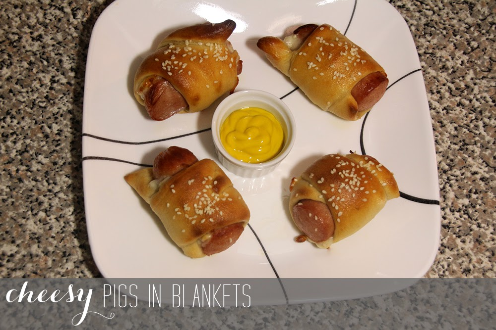 Cheesy Pigs in Blankets