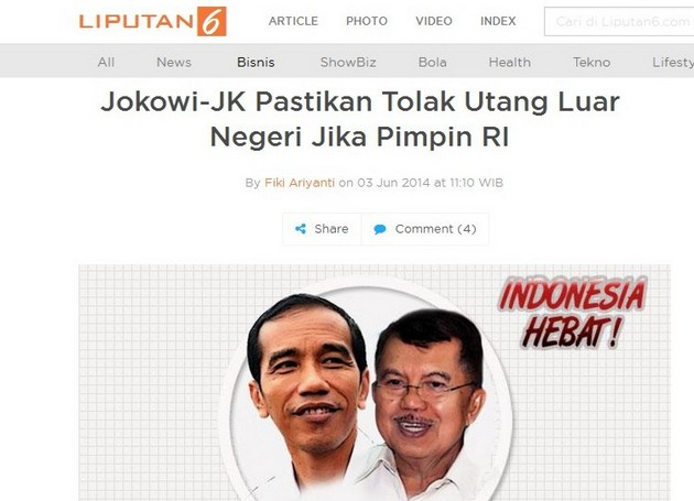 #IndonesiaHebat: Pemerintah Ngutang Lagi Rp.497 Triliun
