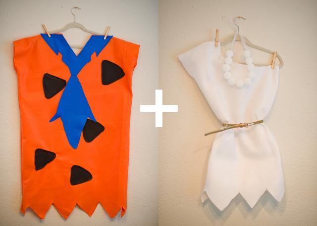 Domestic fashionista fred wilma and bamm bamm - Disfraz picapiedra casero ...