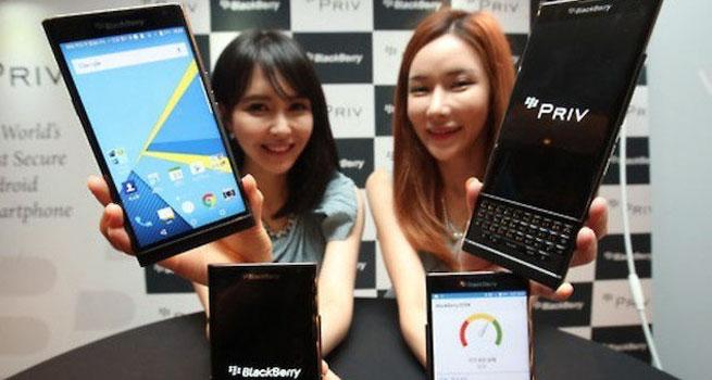blackberry priv kembali ke korea selatan