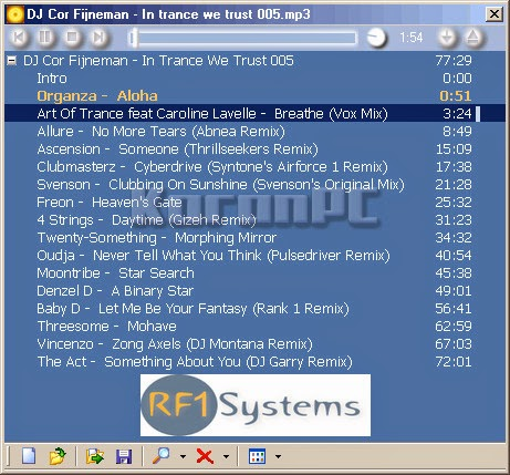 RF1-System Player 1.7.2 Full Download