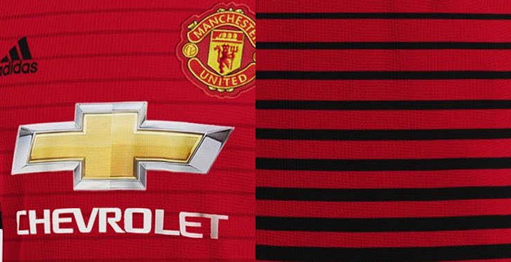 4e811bc89 Now graphic designer Franco Carabajal has made a prediction of how the new Adidas  Manchester United 2018-2019 home kit could look like.