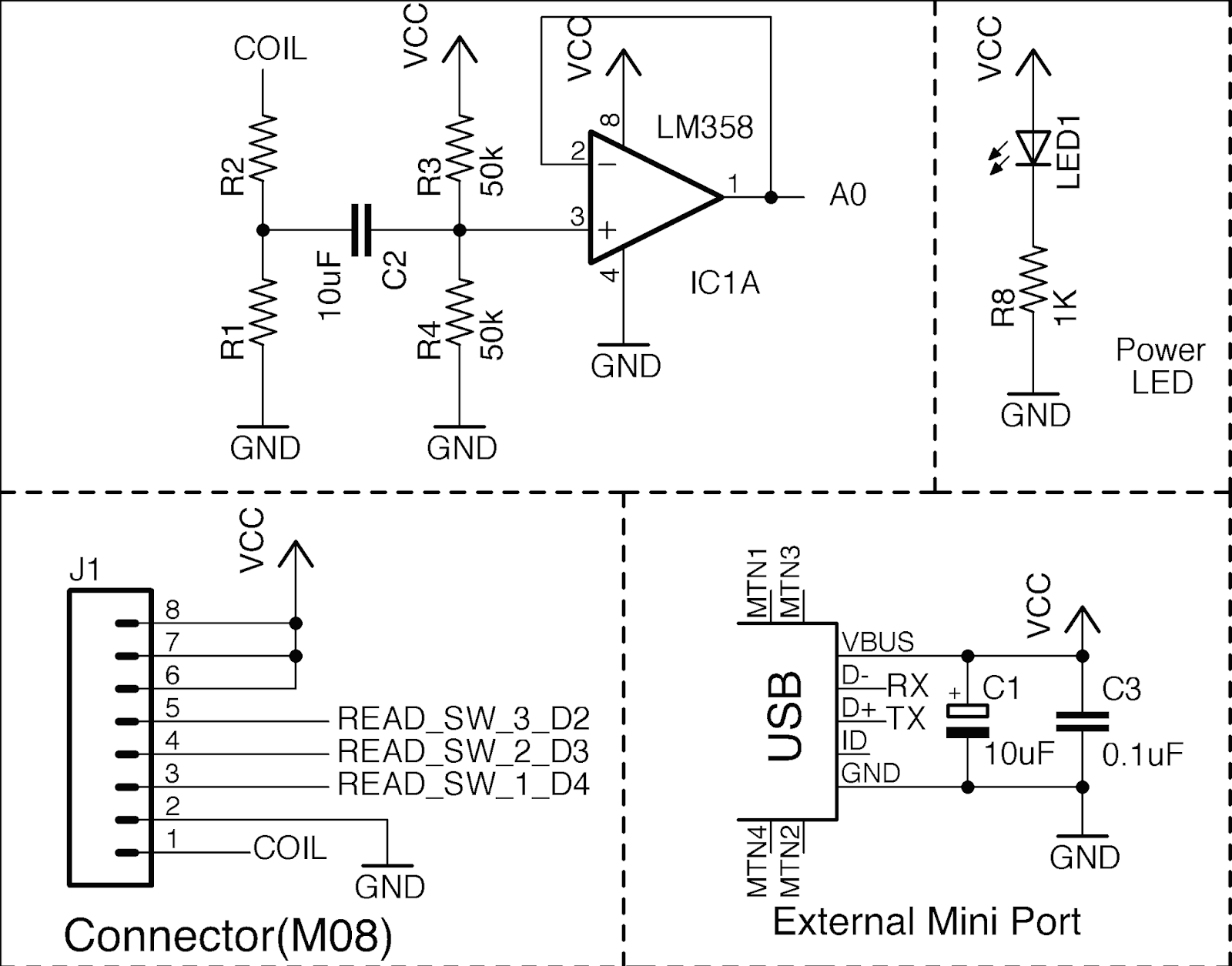 Embedded Systems Circuits 8085 Projects Blog Archive Analog Oscilloscope Circuit Better Schematic
