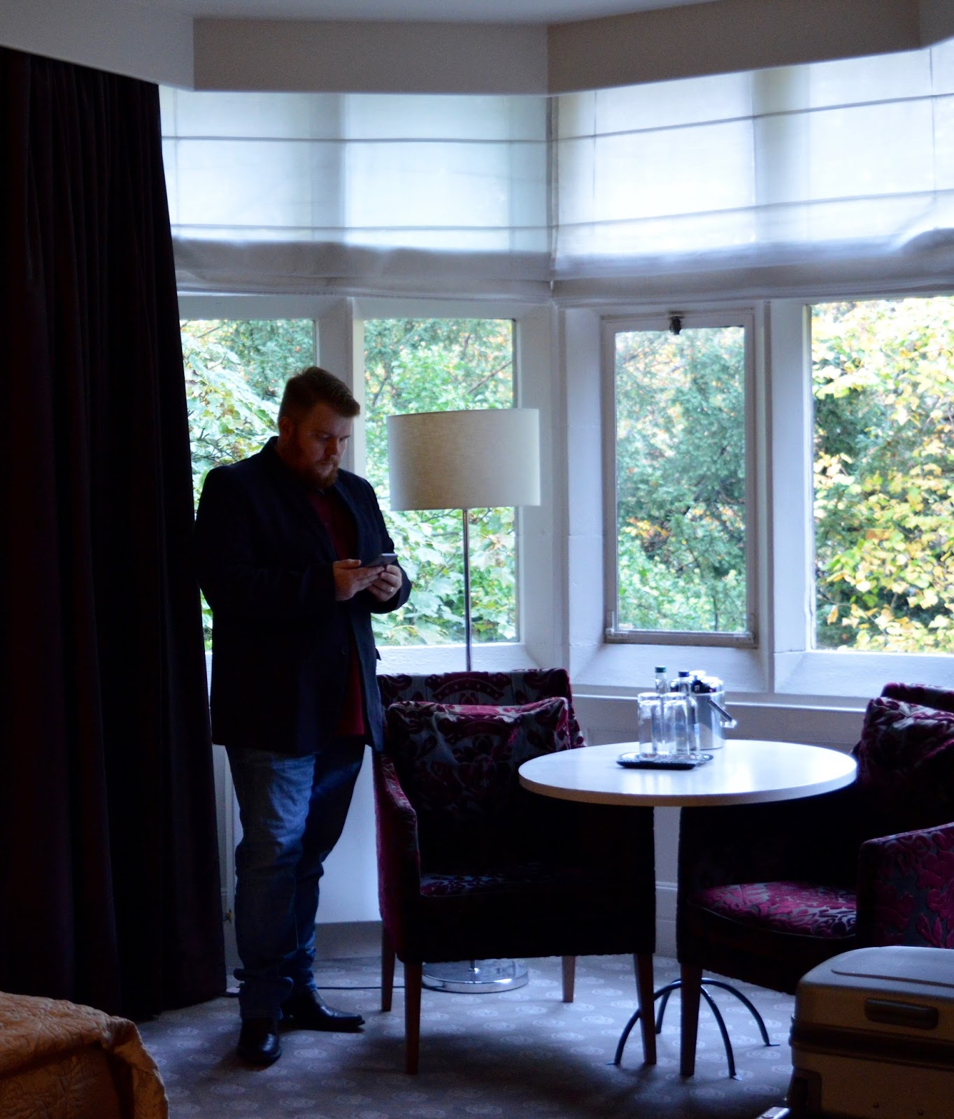 A Luxury Stay at Jesmond Dene House Hotel | The Best Luxury Boutique Hotel in Newcastle - deluxe room