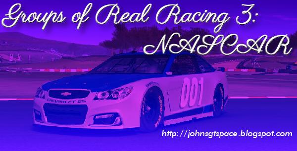 Groups of Real Racing 3 NASCAR
