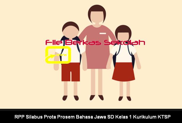 RPP Silabus Prota Prosem Bahasa Jawa SD Kelas 1 Kurikulum KTSP