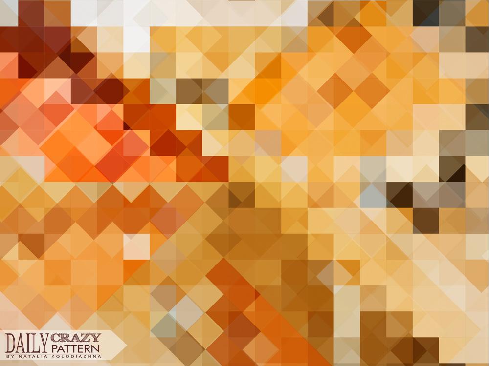 "Impressive geometric pattern for ""Daily Crazy Pattern"" project | Natalia Kolodiazhna"