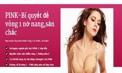 Tăng vòng 1 ipink - Hướng dẫn cách sử dụng thuốc nở ngực ipink