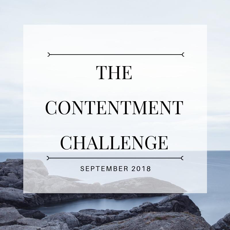 #contentmentchallenge