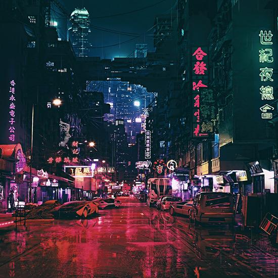 Cyberpunk Futuristic City 4k Wallpaper Engine