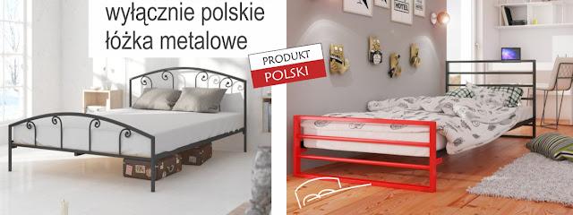 łóżka metalowe Lak System Polskie łóżka