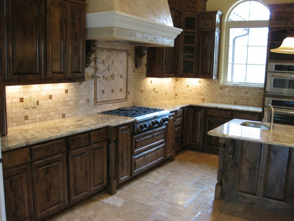 clean  travertine backsplash stones tips  home  garden